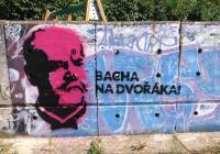Festival Dvořákova Praha cílí street artovou kampaní na mladé publikum