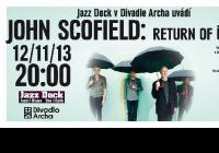 V Divadle Archa zahraje jeden z nejvýznamnějších světových kytaristů posledních třiceti let - John Scofield!
