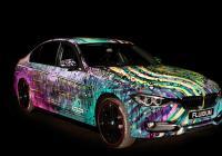 Výtvarník Andy Reiben vytvořil z BMW nové umělecké dílo