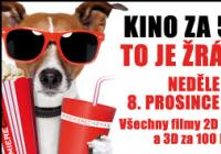 Do Premiere Cinemas Praha Hostivař můžete v neděli 8.12. vyrazit na filmy za 50 Kč