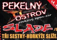 Festival Pekelný ostrov přivítá glam-rockovou legendu SLADE