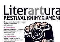 Festival LiterARTura se letos zaměří na fotografii. Podtitulem tohoto ročníku jsou Knihy v dobrém světle