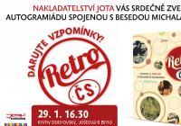 Literární novinky - Křest knihy Miroslava Stingla a autogramiáda autora Retro ČS