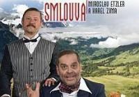 Smlouva: Tragikomické sólo pro Miroslava Etzlera a Karla Zimu
