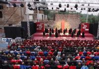 Letošní novinkou na Letních Shakespearovských slavnostech v Ostravě je pražská inscenace Romeo a Julie