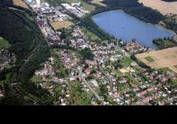 areál přehrady Baška