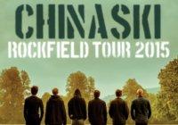 Chinaski tour Rockfield 2015