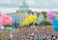 Praha zažila svůj historicky první nejbarevnější běh  - The Color Run!