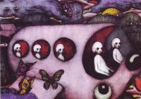 Obrazy malířské generace 90. let budou vystaveny v Adam gallery