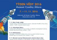 Týden vědy v jihlavském muzeu