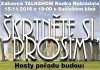 Škrtněte si prosím - zábavná talk show Radka Nakládala