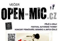 Festival autorské tvorby | OPEN-MIC.cz | Přijď a hraj!