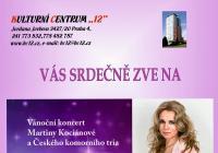Vánoční koncert Martiny Kociánové a Českého komorního tria