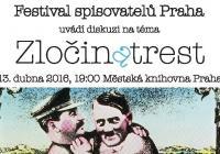 Zločin a trest: Diskuze Festivalu spisovatelů Praha