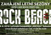 Zahájení letní sezóny s tradičním festivalem Rock Beach