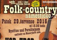 Folk country náměstíčko