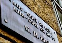 Pamětní desky Sametové revoluce na Albertově, Praha 2