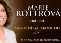 Vánoční koncert Marie Rottrové v O2 areně se nezadržitelně blíží