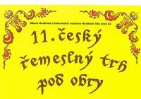 11. český řemeslný trh pod obry v Hostinném