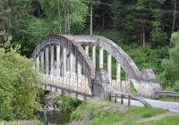 Most přes Malši - výstupní místo Pořešín