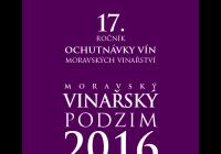 Moravský vinařský podzim 2016