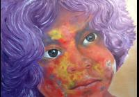 Víkendový kurz malování portrétu technikou dry brush color