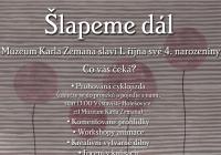 Říjnový program Muzea Karla Zemana