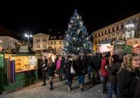Vánoční trhy na Zelňáku v Brně