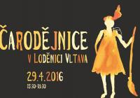 Čarodějnice v Loděnici Vltava 2016
