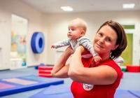 Netradiční cvičení pro maminky s dětmi v Monkey´s Gym