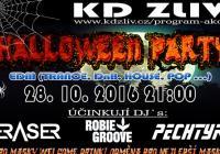 Halloween disco párty Zliv