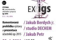 Výstava EX – IGS: Setkání s autory