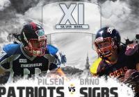 XI. Silver Bowl - Finálové utkání amerického fotbalu - Brno
