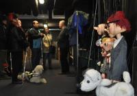Neviditelná výstava prozkoumala zákulisí Divadla Spejbla a Hurvínka