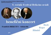 Festival Brikcius - benefiční koncert Violoncellové suity pro Lékaře bez hranic | Médecins Sans Frontière
