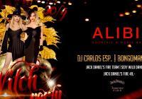 Witch party v ALIBI.