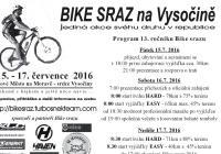 Bike sraz na Vysočině - 13 ročník