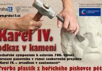 "Sochařské sympozium ""Karel IV. - odkaz v kameni"""
