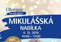 Olympia Teplice pořádá Mikulášskou nadílku