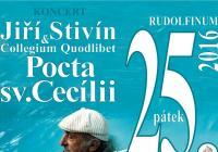 Koncert Pocta sv. Cecílii 25.  Jiří Stivín a Collegium Quodlibet
