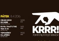 KRRR! Festival 70mm filmů 2016
