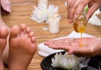 Orientální masáž nohou