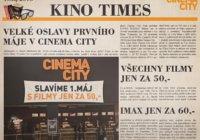 KINO: Na prvního máje do kina za 50 Kč