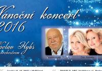 Vánoční koncert 2016 Orchestru Václava Hybše