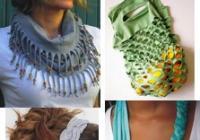 Šperky a doplňky z triček