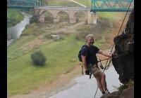 Via Ferrata lezení na Pastýřské stěně v Děčíně