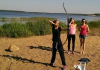 Workshop lukostřelba, střílení v parku do terče a postřehová hra