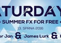 Saturday FX For Free - Junior Jan, James Lurk, Krekr