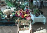 Výstava květin a umění v Moravci na Žďársku