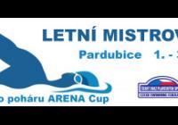 Letní mistrovství ČR v plavání - Aquacentrum Pardubice